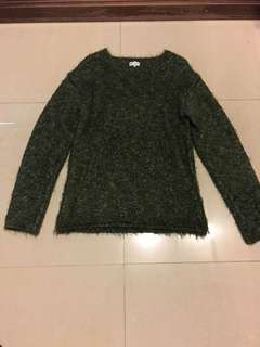 Paul Smith forest green wool sweater