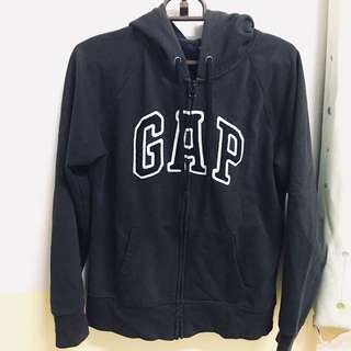 Gap連帽外套黑色