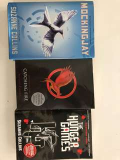 Hunger Games series - 3 books