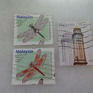 Malaysia Stamps 3V Used