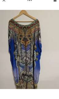 CAMILLA Sharmanic by Nature long round neck Kaftan