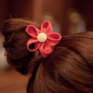 🌸520🌸COCO-★韓版花朵 髮飾 髮圈★【B-125】