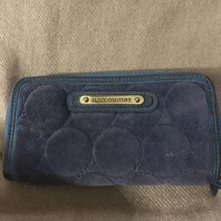 Authentic Juicy Couture long zip wallet