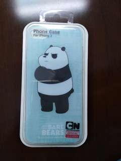 We Bear Bears Panda iPhone 7 case