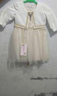Dress anak usia 1 sf 2  thn