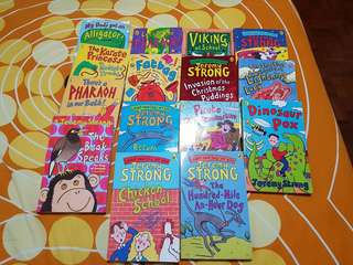 Jeremy Strong books. Total 14 books