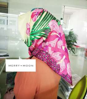 NEW ITEM!! FOREST SQUARE HIJAB
