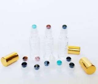 Essential Oil Gemstone Roller Bottles