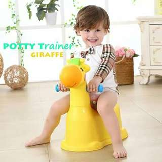 Giraffe Potty Trainer