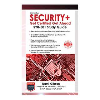 CompTIA Security+ Get Certified Get Ahead: SY0-501 Study Guide Kindle Edition by Darril Gibson  (Author)