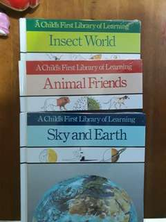 Insect world, animal friends & sky & earth