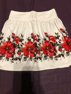 Twenty One Floral Skirt
