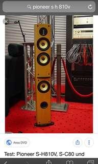 Pioneer S-H810V tower speaker