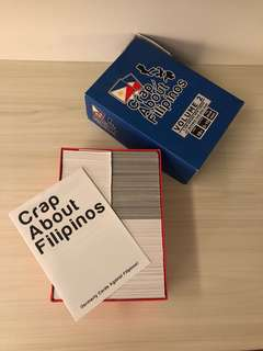 Crap about Filipinos (Cards against Humanity)