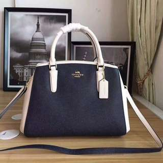 Coach Two Toned Sling Bag
