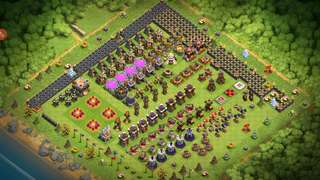 Clash of clan account with 14,000+ gems