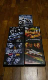 Fast & Furious DVD Collection