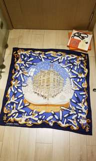 *sharing* Hermes Christmas cashmere silk scarf