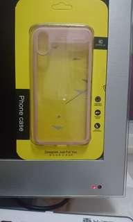 Iphone x case 晶彩系列 粉色