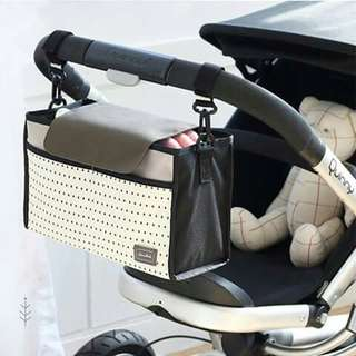 Stroller Organizer Bag - BLACK