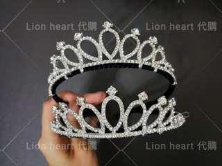 🚚 現貨實拍  韓國氣質公主亮鑽皇冠造型髮箍(氣質皇冠款)