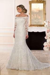 Tailoring wedding dress