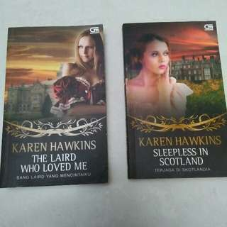 Buku novel Karen Hawkins