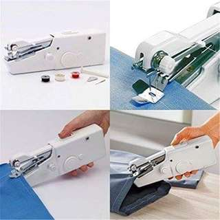 Instock Authentic Electric Handheld Sewing Machine Mini Handy Stitch Portable