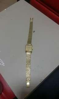 芝柏18k金手錶 18k金錶帶