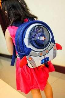 Space-kid traveller kiddie bag