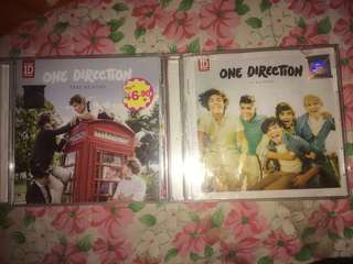 One direction TAKE ME HOME and UP ALL NIGHT album