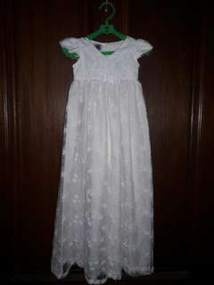 Christening Dress+Pamalit for 0-6 months baby