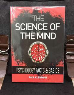 《Preloved Paperback + A Hands-On Approach To Exploring The Human Psychological Mind》Paul Kleinman - THE SCIENCE OF THE MIND : Psychology Facts & Basics