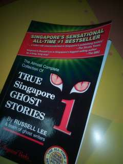 true singapore ghost stories 👻