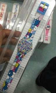 Jam tangan swatch ori lucu