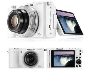 🚚 Samsung ex2f 旋轉大光圈自拍相機