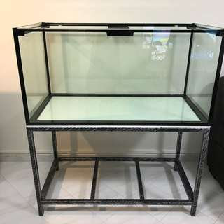 422 Feet aquarium Fish Tank and rock iron stand with delivery