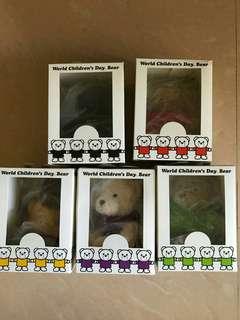 5隻小熊(劉德華5位明星設計)