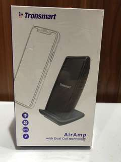 Tronsmart AirAmp Dual Coil Fast Wireless Charger