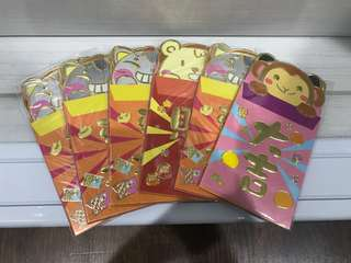 Red packets angbao