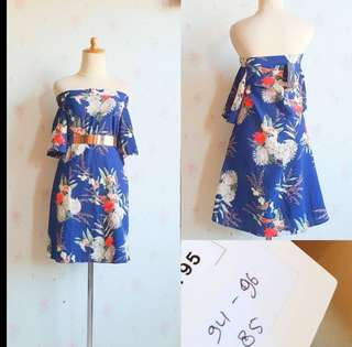 Sabrina blue flow sz l sd xl