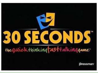30 seconds board game