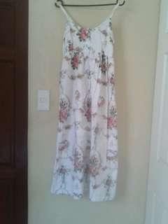 Branded Maxi Dress Floral