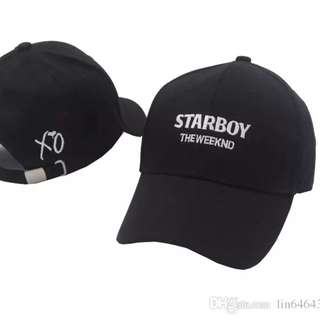 The Weeknd Starboy Caps