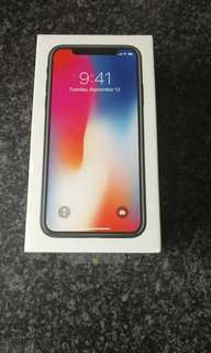 📣SALE! Apple iPhone X 64/256GB (Free Wireless Charger + HD Tempered Glass)