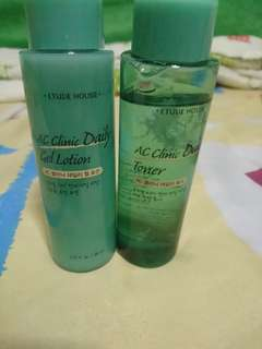 AC Clinic Daily Lotion and Toner