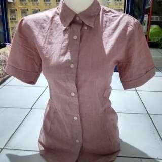 Uniqlo blouse #MAUSUPREME