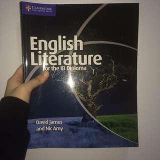 CAMBRIDGE IB English Literature (GOOD AS NEW!!)