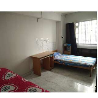 Common shared room rent out ,look for 1 lady(2 ladies share a room ) ,400.00 /month , inc PUB&Wifi