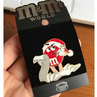 m&m pin